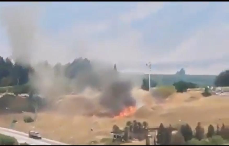 Lübnan'dan İsrail'e Roket Atıldı