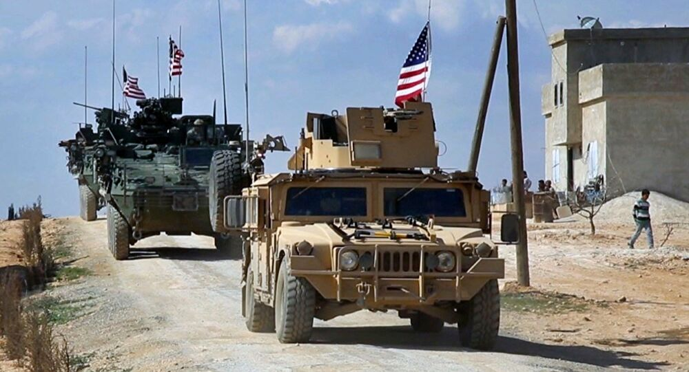 ABD Suriye'deki Üslerini Takviye Ediyor
