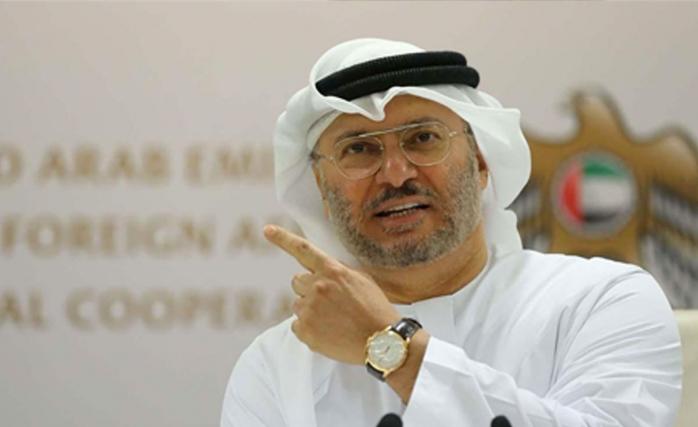 BAE Dışişleri Bakanı Enver Gargaş'tan Katar Açıklaması