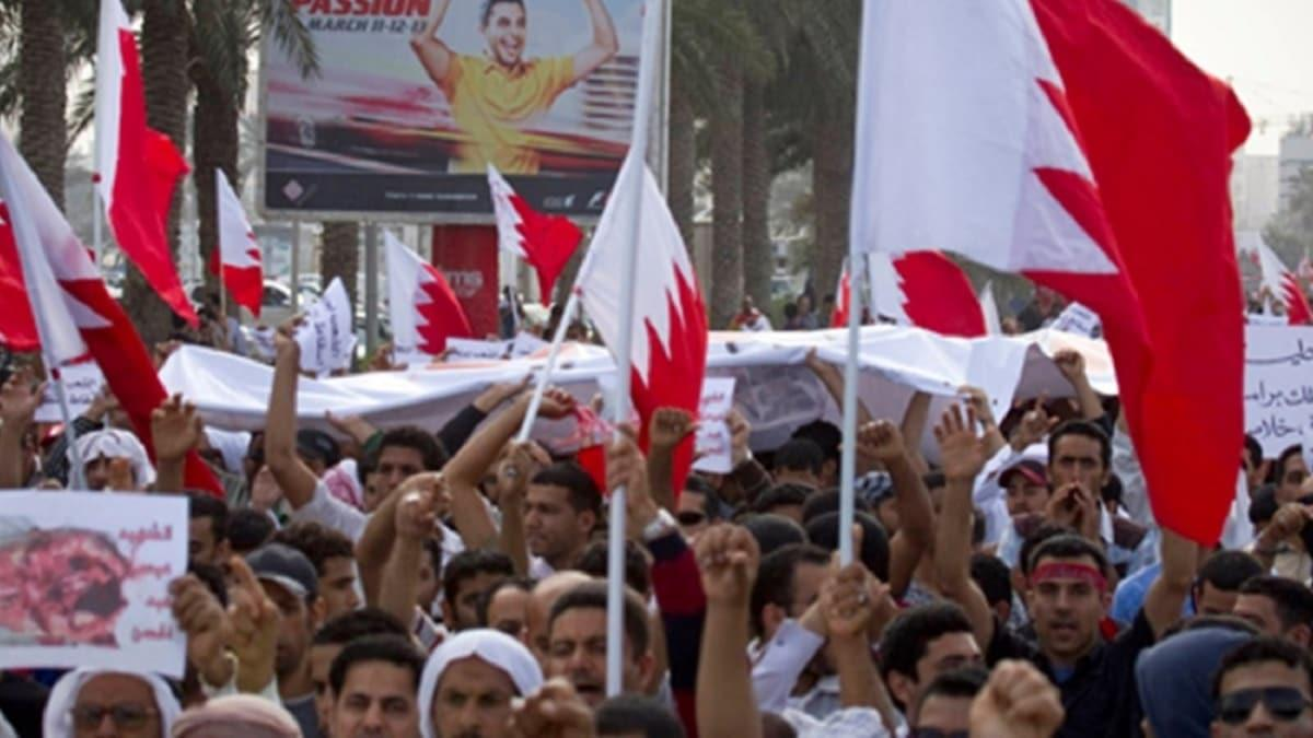 Bahreyn'de İsrail Protestosu