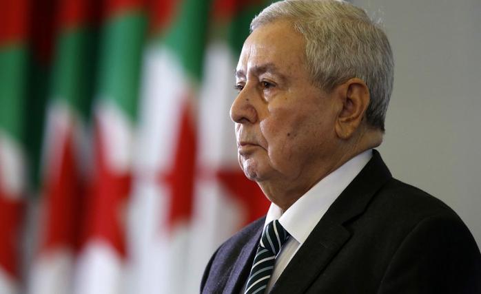 Cezayi̇r'de Yeni̇ Cumhurbaşkanı