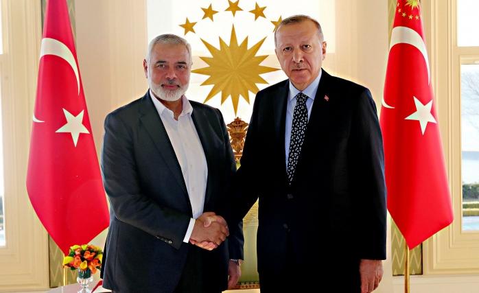 Ekonomik İlişki İstiyor fakat Hamas'ı Ağırlıyorsunuz İddiası