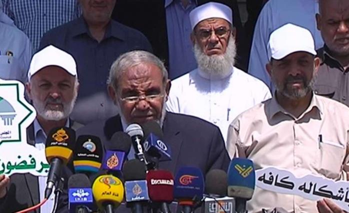 Hamas Liderlerinden Mahmud Zahhar Suriye ile Birliktelik Mesajı Verdi