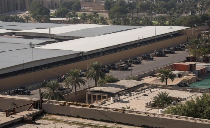 Iraklı Güvenlik Uzmanı: ABD'nin Bağdat Büyükelçiliği Etrafı için Tehdittir