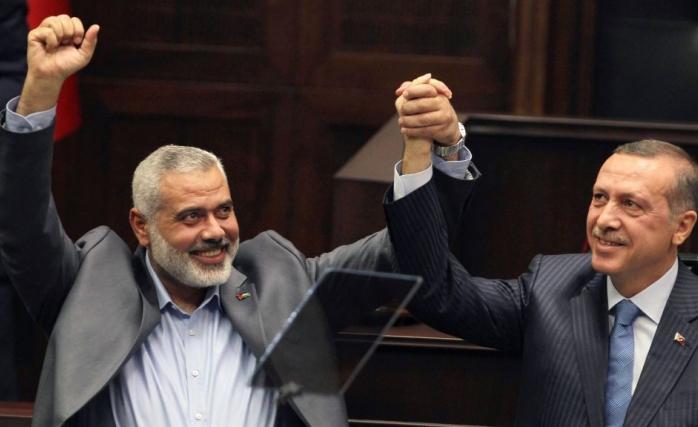 İsrail'den Türkiye'ye HAMAS Suçlaması