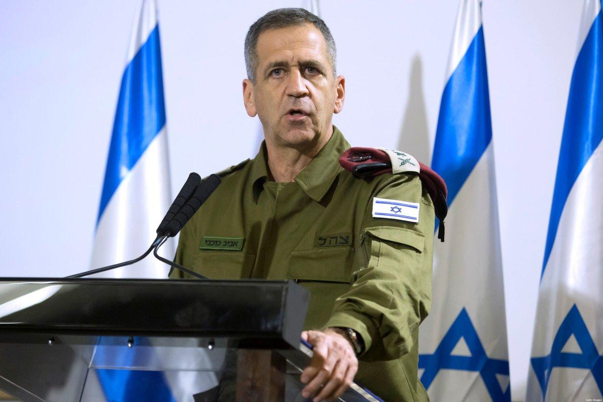 İsrail Genelkurmay Başkanı ABD'ye Gidiyor
