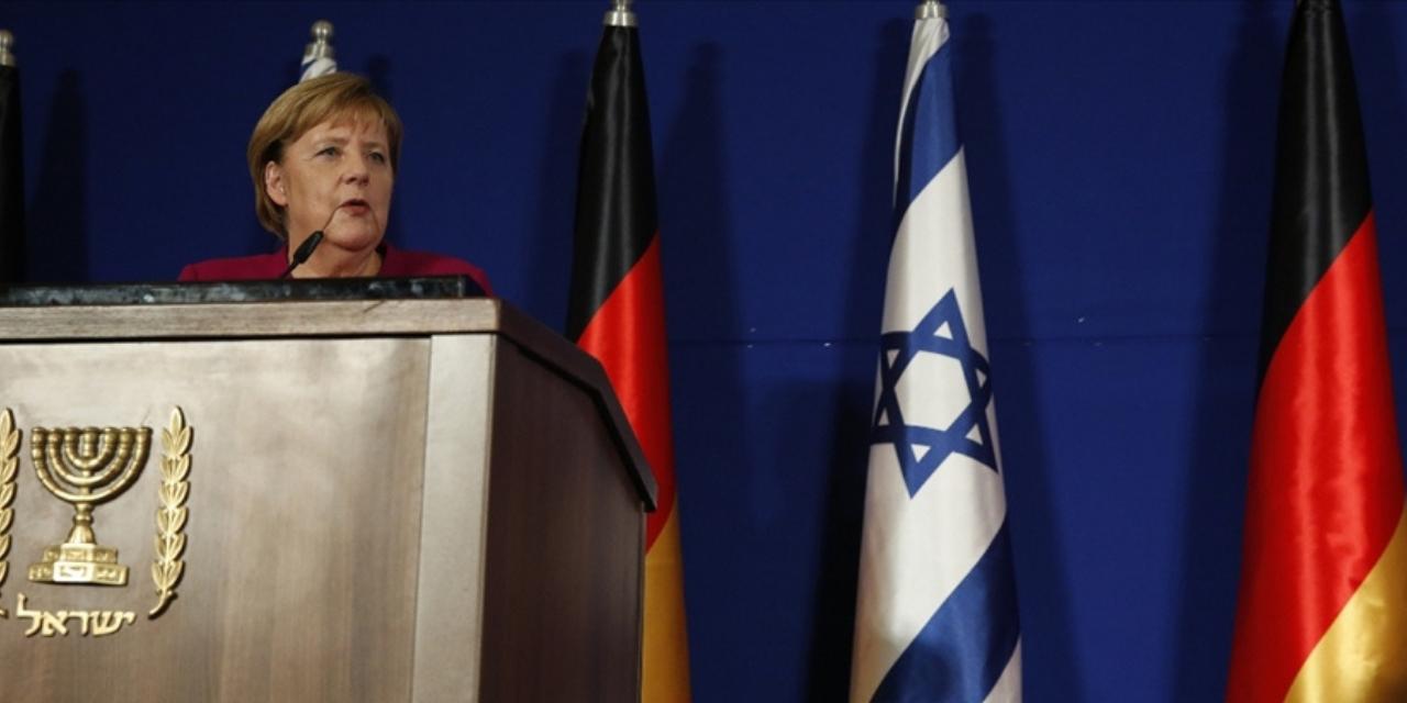 Merkel İsrail'de