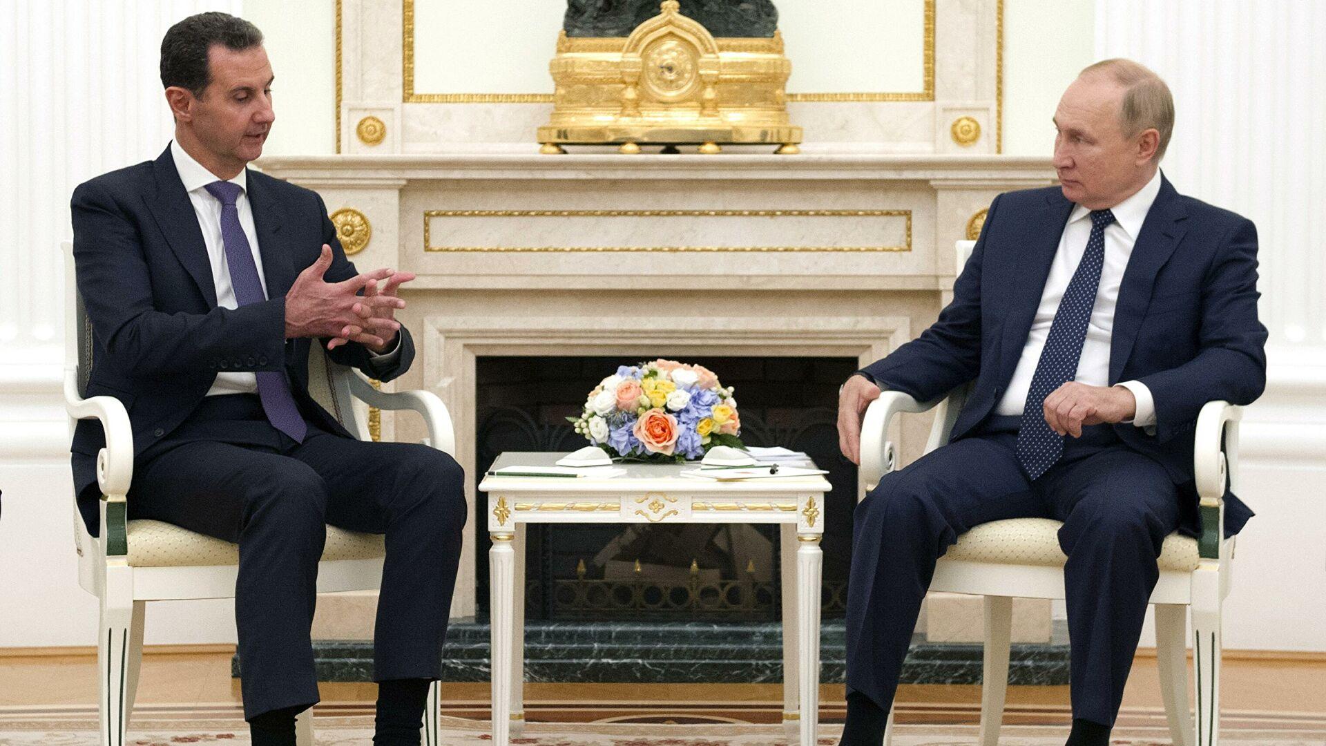 Şam'dan Kremlin'e Sürpriz Ziyaret
