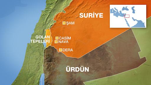 Suriye Dera'da Son Durum
