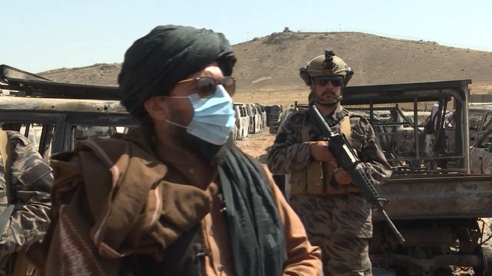 Taliban Komutanı CIA Üssü'nde